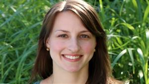 Julie Kleber '11BSN, RN, BMTCN, oncology nurse at the Memorial Sloan Kettering Cancer Center.